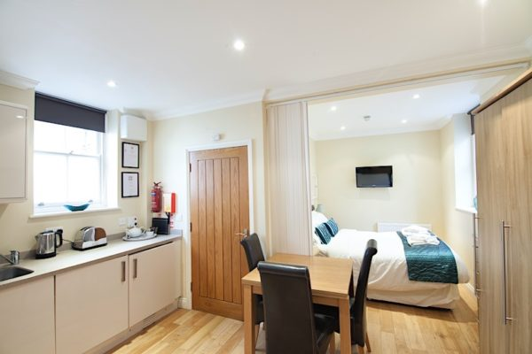 Battenburg Studio Apartment, Shanklin Villa Luxury Self Catering Holiday Apartments, Isle of Wight