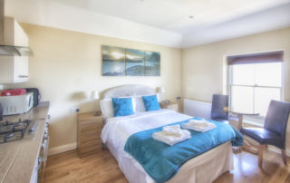 Beatrice_Studio_Apartment Bed, Shanklin Villa, Isle of Wight