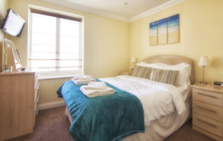Cadogan_Bedroom.Shanklin Villa Luxury Self Catering Holiday Apartments, Isle of Wight.