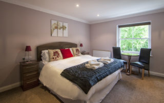 Cromwell_Master_bed. Shanklin Villa Luxury Self Catering Holiday Apartments, Isle of Wight