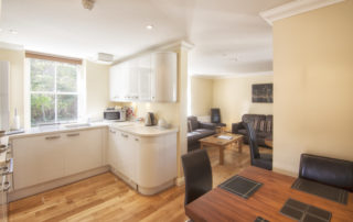 Eversley_Apartment_LivingShanklin Villa Luxury Self Catering Holiday Apartments, Isle of Wight