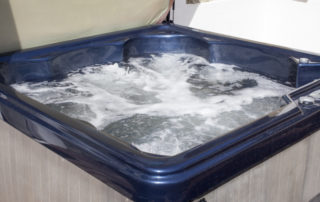 Eversley_Hot_Tub. Shanklin Villa Luxury Self Catering Holiday Apartments, Isle of Wight. jpg