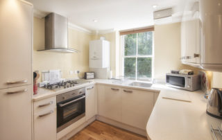 Eversley_Kitchen. Shanklin Villa Luxury Self Catering Holiday Apartments, Isle of Wight jpg