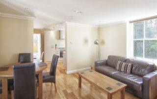 Eversley_Living_Area.Shanklin Villa Luxury Self Catering Holiday Apartments, Isle of Wight