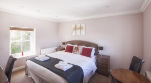 Eversley_Master_Bedroom.Shanklin Villa Luxury Self Catering Holiday Apartments, Isle of Wight