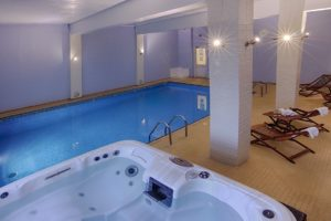 Indoor Pool & HotTub, Luccombe Hotels, Shanklin Villa, Isle of Wight
