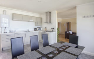 Montagu_Dining_Kitchen Shanklin Villa Luxury Self Catering Holiday Apartments, Isle of Wight