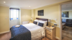 Mountbatten_Double_Bedroom.Shanklin Villa Luxury Self Catering Holiday Apartments, Isle of Wight.
