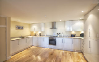 Mountbatten_Garden_Apartment_Kitchen. Shanklin Villa Luxury Self Catering Holiday Apartments, Isle of Wight.