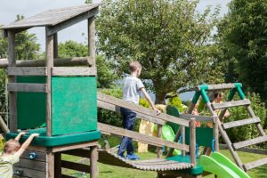 Outdoor Play Area, Luccombe Hotel Leisure Facilities for Guests of Shanklin Villa Luxury Holiday Apartments, Isle of Wight