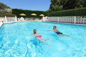 Outdoor Swimming Pool, Luccombe Hotels, for Guests of Shanklin Villa, Isle of Wight