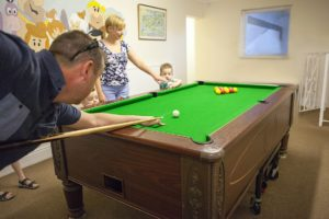 Pool Table, Luccombe Hotels, For Guests Use of Shanklin Villa Luxury Holiday Apartments, Isle of Wight