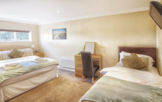 Worsley_Bedroom Shanklin Villa Lusury Self Catering Holiday Apartments, Isle of Wight